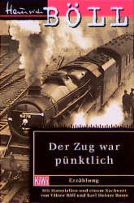 Der Zug war pünktlich