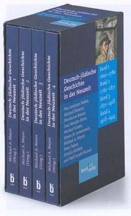 Deutsch-jüdische Geschichte in der Neuzeit, 4 Bde.