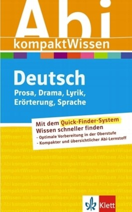 Deutsch Prosa/Drama/Lyrik