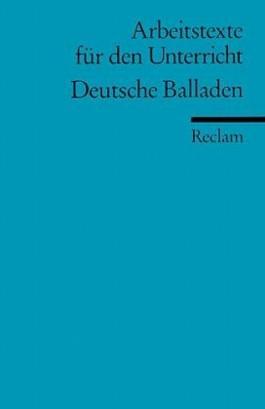 Deutsche Balladen.
