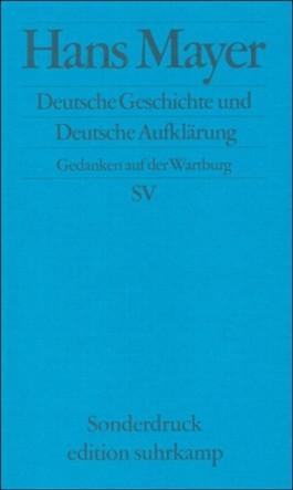 Deutsche Geschichte und Deutsche Aufklärung