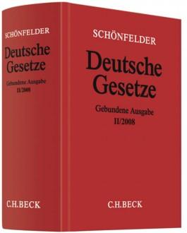 Deutsche Gesetze II/2008