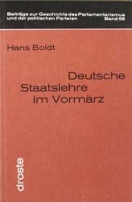 Deutsche Staatslehre im Vormärz