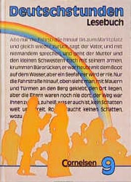 Deutschstunden Lesebuch 9