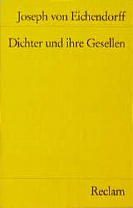 Dichter und ihre Gesellen. Novelle.