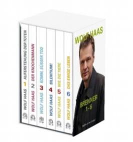 Die 6 Brenner-Romane, 6 Bde.