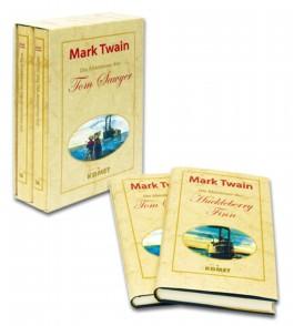 Die Abenteuer des Tom Sawyer und Huckleberry Finn: 2 Bände.