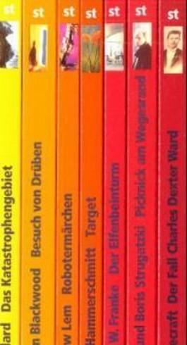 Die andere Zukunft. Phantastische Bibliothek. 7 Bände in Kassette