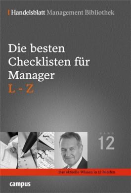 Die besten Checklisten für Manager, L-Z
