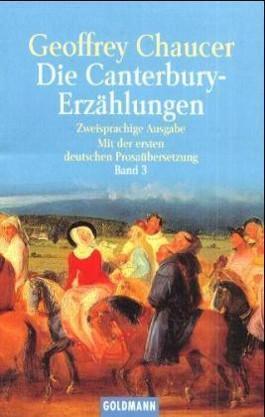 Die Canterbury-Erzählungen. Bd.3