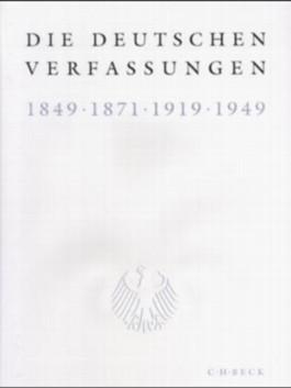 Die deutschen Verfassungen