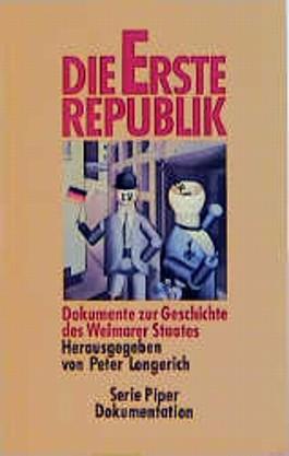 Die Erste Republik