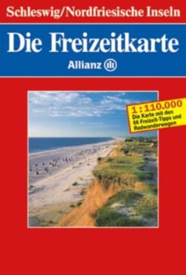 Die Freizeitkarte Allianz, Bl.1, Schleswig, Nordfriesische Inseln
