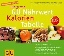 Die große GU Nährwert-Kalorien-Tabelle 2006/07