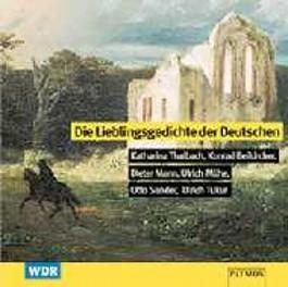 Die Lieblingsgedichte der Deutschen, 1 Audio-CD