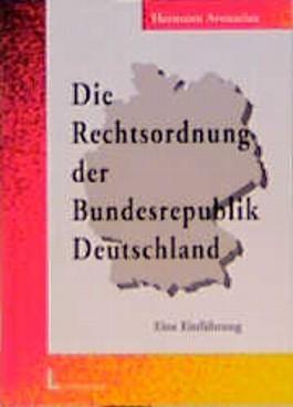 Die Rechtsordnung der Bundesrepublik Deutschland