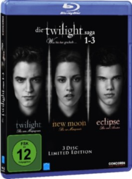 Die Twilight-Saga 1-3, Was bisher geschah, Limited Edition, 3 Blu-rays