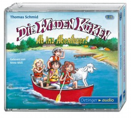 Die Wilden Küken – Ab ins Abenteuer! (3 CD)