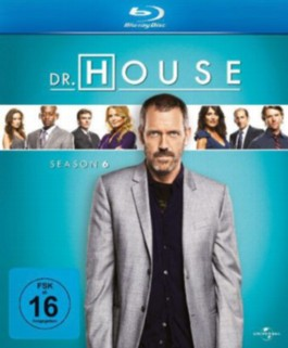 Dr. House, 6 Blu-rays. Season.6