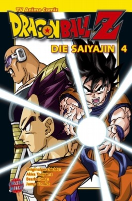 Dragon Ball Z - Die Saiyajin, Band 4