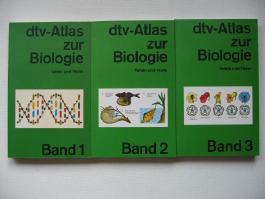 dtv - Atlas zur Biologie,(Band 1-3)