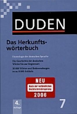 Duden / Das Herkunftswörterbuch