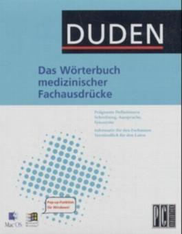 Duden - Das Wörterbuch medizinischer Fachausdrücke PC-Bibliothek CD-ROM (Win/Mac)