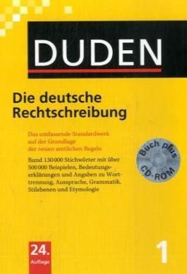 Duden / Die deutsche Rechtschreibung - Buch plus CD