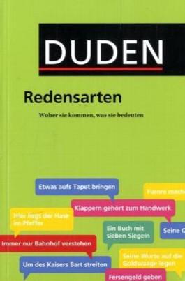 Duden - Redensarten
