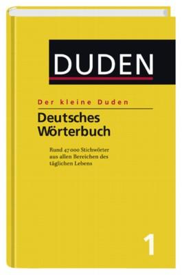 Duden. Der kleine Duden. Deutsches Wörterbuch