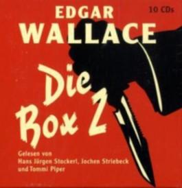 Edgar Wallace - Die Box, 10 Audio-CDs. Tl.2