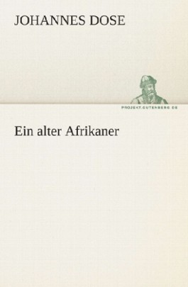 Ein alter Afrikaner
