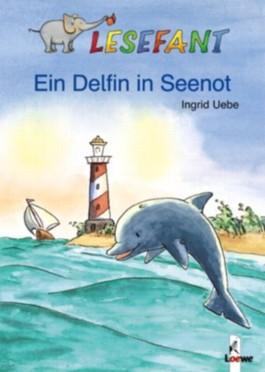Ein Delfin in Seenot