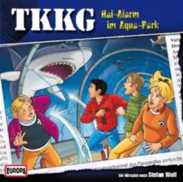 Ein Fall für TKKG - Hai-Alarm im Aquapark, 1 Audio-CD