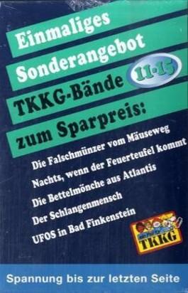 Ein Fall für TKKG (Bd.11-15), 5 Bde.