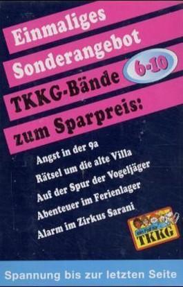 Ein Fall für TKKG (Bd.6-10), 5 Bde.