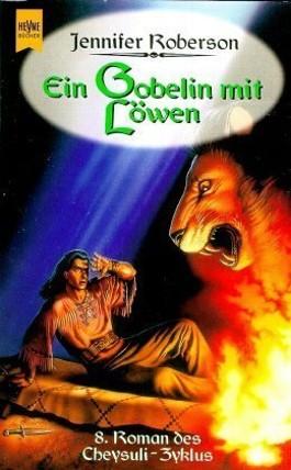 Ein Gobelin mit Löwen