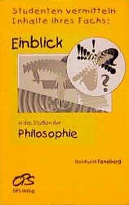 Einblick in das Studium der Philosophie. Studenten vermitteln Inhalte ihres Fachs