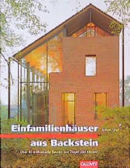 Einfamilienhäuser aus Backstein