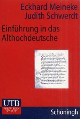 Einführung in das Althochdeutsche