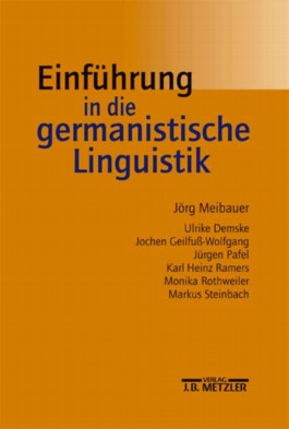 Einführung in die germanistische Linguistik