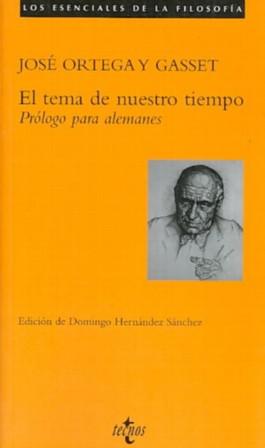 El Tema De Nuestro Tiempo / the Theme of Our Time