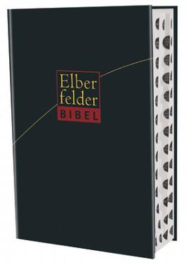 Elberfelder Bibel - Großausgabe, Leder Goldschnitt schwarz, mit Registerstanzung