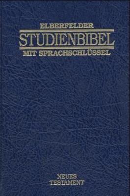 Elberfelder Studienbibel mit Sprachschlüssel