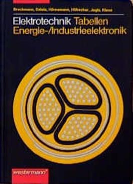 Elektrotechnik Tabellen Energieelektronik