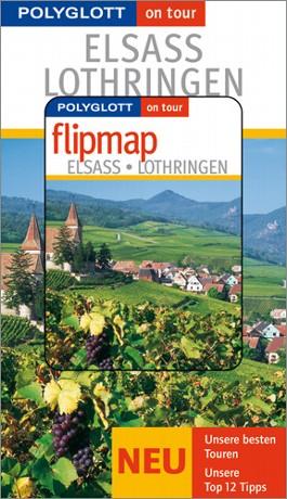 Elsass/Lothringen - Buch mit flipmap