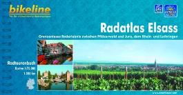 Elsass Radatlas Zwischen Pfalzer Wald Und Jura, Rhein Und Lotharingen