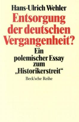 Entsorgung der deutschen Vergangenheit