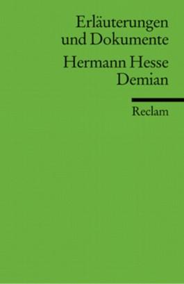 Erläuterungen und Dokumente zu Hermann Hesse: Demian