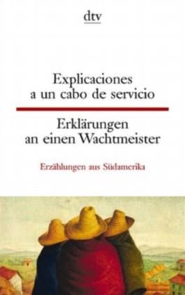 Explicaciones a un cabo de servicio Erklärungen an einen Wachtmeister